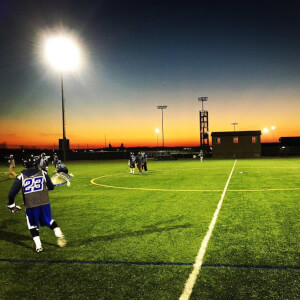 Photo on twitter by GVSULAX